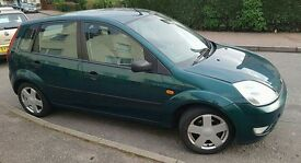 A very reliable ford Fiesta Zetec, 1.4, 5dr hatchback, 03 plate, 84,000 (low mileage for age)