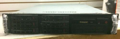 SuperMicro 2U CSE-822 Rackmount Server w/X9SCA Intel E3-1220 3.10GHz 4GB RAM