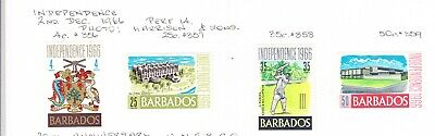 Barbados 1966 Independence set MH
