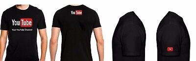 YouTube logo T-shirt (Personalized Custom) Your Channel broadcast Streamers Gift - Personalized Streamers