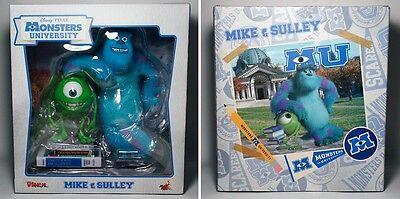 Monsters University Mike and Sully Statue - Hot Toys