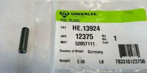 GREENLEE  PIN, BLADE HE.13924