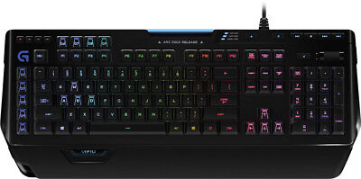 Logitech - Orion Spectrum G910 Wired Gaming Mechanical Romer-G Switch Keyboar...