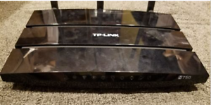 TP LINK N750 Dual Band Gigabit Router plus High Gain Antennas East Toowoomba Toowoomba City Preview