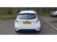 Ford Fiesta Zetec 1.25 petrol, manual