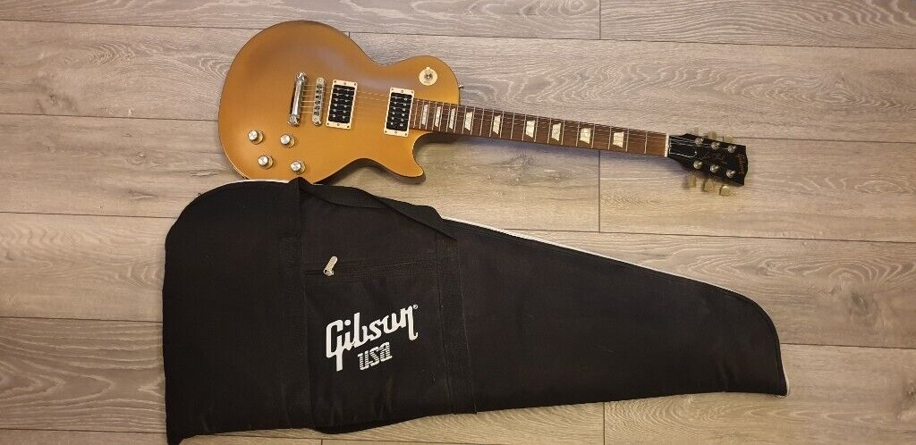 Gibson Les Paul Gold 2011 50s Tribute - made in USA + Gibson bag electric  guitar   in Blackheath, London   Gumtree