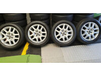 Vauxhall Genuine Antara Zafira 18 alloy wheels + 4 x tyres 235 55 18 All Seasons