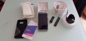 Samsung S6edge+ gear s2 Very good condition!