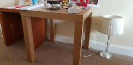 small side table and shoe rack available for collection