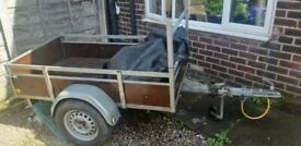 Trailer galvanised trailer towing camping