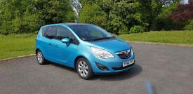 2011 Vauxhall Meriva SE 1.4 full specs 51k miles
