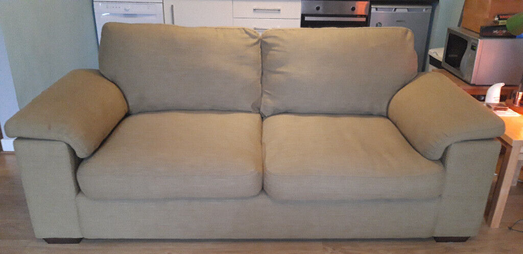 3 Seater Sofa And 2 Seater Sofa For Sale Sage Green In