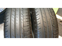 215 60 16 2 x tyres Bridgestone Turanza T001