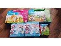 Playmobil bundle new princess magic horses