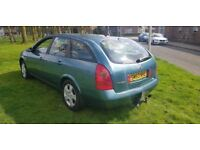 NISSAN PRIMERA ESTATE 2.2 DIESEL,, EXCELLENT DRIVE ( ANY OLD CAR PX WELCOME )