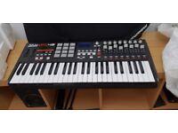 Akai MPK 49 USB/MIDI Keyboard Controller Boxed Perfect Condition