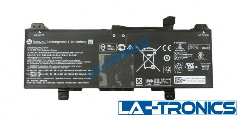 "Genuine OEM HP 3PD94UT Chromebook 11 G6 EE 11.6"" Battery GB02XL L42583-002"