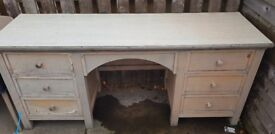 Solid wood table desk free