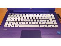 HP PURPLE STREAM 13.3 LAPTOP