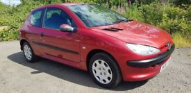 1 OWNER**Peugeot 206 **46000 MILES**FULL SERVICE HISTORY**MOT MARCH 2019**Immaculate example!!