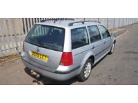 VW GOLF ESTATE 6 SPEED BOX ( ANY OLD CAR PX WELCOME )