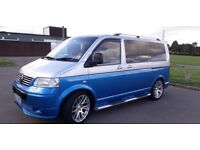 VW T5 CAMPER 130ps auto 140000 miles recent gearbox overhaul priced for quick sale