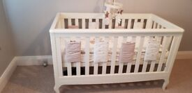Mamas and papas cot , mattress