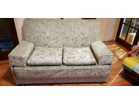 Sofa Suite (sofa bed, 2 chairs & rocking chair)