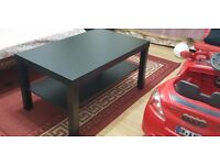 Coffee Table Living Room Furniture Modern Design With Shelf NEW