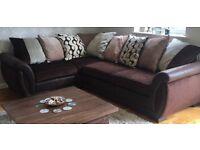 DFS Shannon right hand corner sofa in perfect condition!!