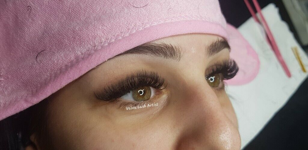 Eyelash Extensions, Russian Volume Eyelash Extensions, 3D-9D