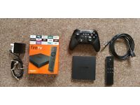 Amazon FireTV 4K Ultra HD with Games Controller and HDMI Cable