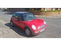 Red Mini Cooper 1.6 12 months MOT 90k miles