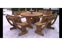 Solid Oak Hardwood Furniture 2 inch thickness hand made