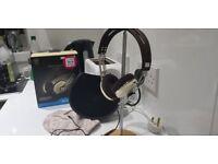 Sennheiser Momentum 2.0 Wired On-Ear Headphones, Ivory/Brown