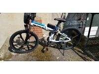 Folding Electric Moutain Bike (Ebike, Electric Bike, E Bike, Bicycle, Electric Bike, Mountain Bike)