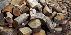Logs & Rings for Cutting/Splitting - £10/cu metre - Softwood/Hardwood - Haslemere