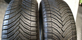 185 55 15 2 x tyres Michelin Cross Climate