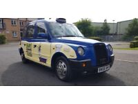 2008 (58) LONDON TAXI INTERNATIONAL TX4 SILVER SPEC AUTOMATIC HACKNEY