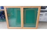 Wooden Display Cabinet With Key