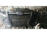 Ford Fiesta st 2014 Front Bumper in Black