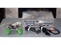 Original Xbox Crystal Edition w/ Controller