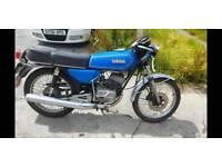 Yamaha rs 125 dx