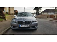 2012 BMW 520 D DIESEL 8 GEAR WITH PADDLE SHIFT