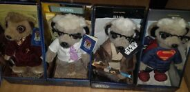 X4 Compare the Market Meerkat toys x2 Limited edition Star was + Superman Sergi