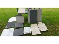 Tiles - Various sizes and colours