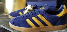 adidas Originals Gazelle Gore-Tex Milan - size  Exclusive , boxed, tagged  and ff471ceeb8c3