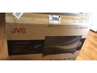 JVC LED TV with DVD Build In (1 month old)