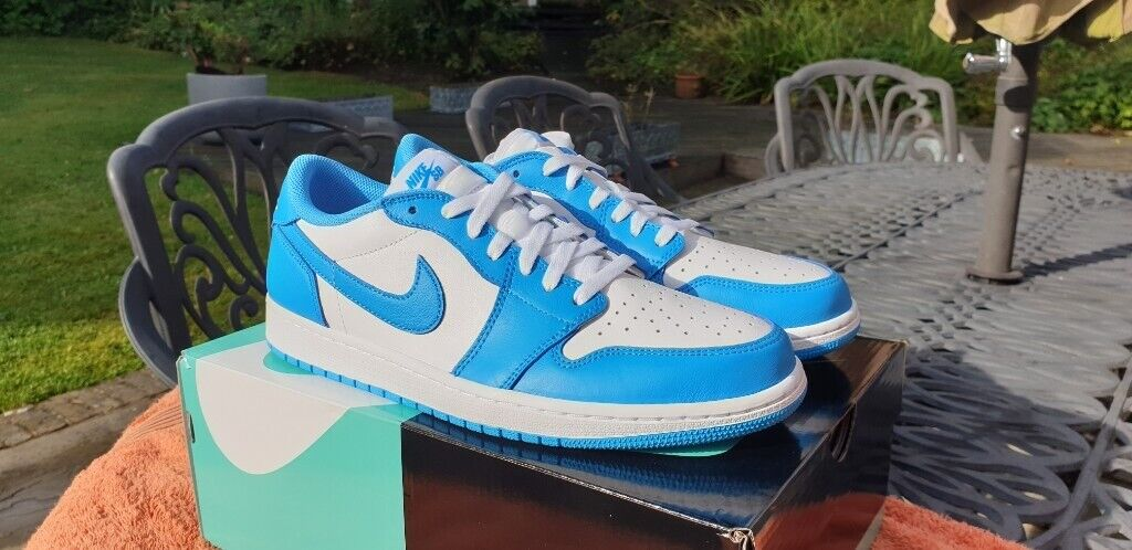 Nike Gumtree 10In X Uk White Low Unc Sb Blue SuttonLondon Jordan 1 Powder Shoes Dark Air eE2bDIWYH9