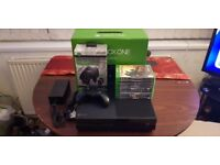 Xbox One 500GB Boxed with Games & Charger + Accessorises Hardly used